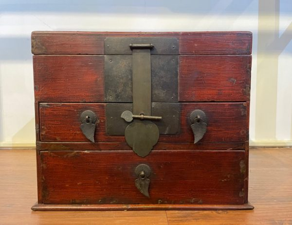 BW Large Elmwood Jewelry Box - 1