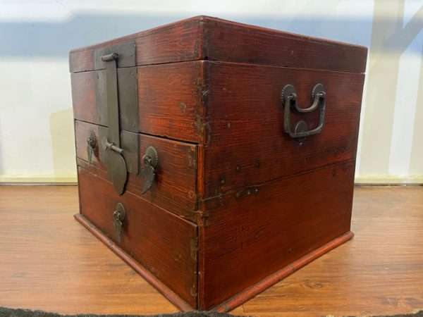 Large Elmwood Jewelry Box