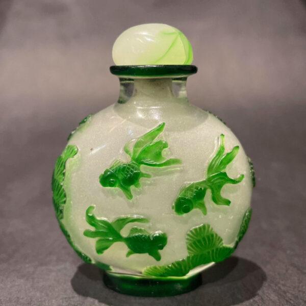 Peking Glass Snuff Bottle FA-199