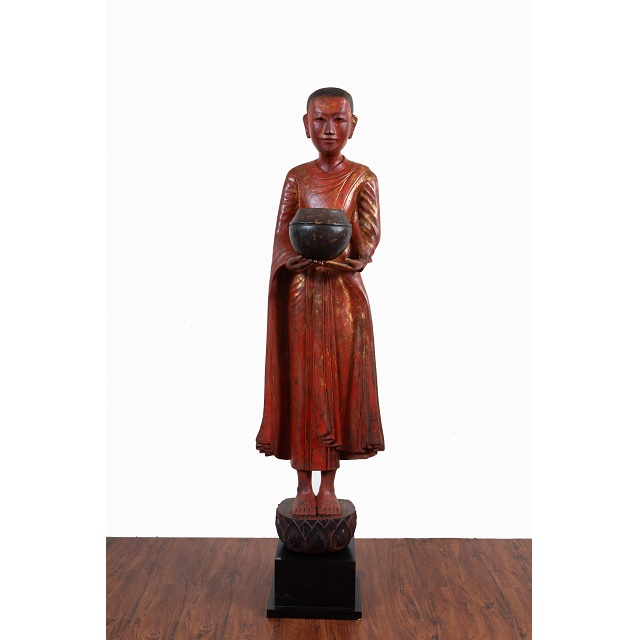 Tall monk with bowl-1
