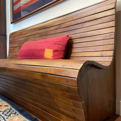 Camphor Slatted Bench 0108A
